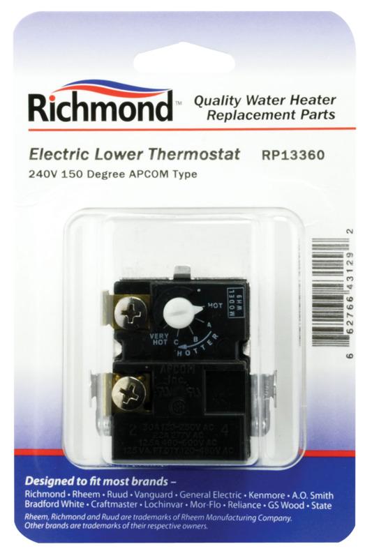 THERMOSTAT LOWER ELEC 150DEG