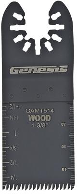 GAMT514 1-3/8 FLUSH OSC BLADE