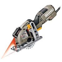 Versa Cut RK3440K Compact Mini Corded Circular Saw, 120 V, 4 A, 3-3/8 in