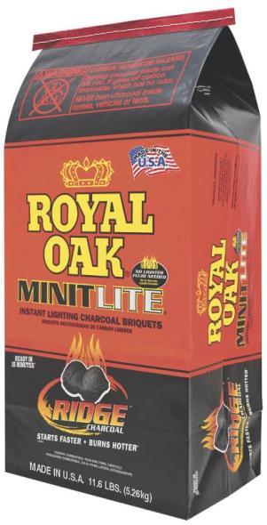 Royal Oak 198-200-007 Minit Lite Charcoal, 12.5 lb Bag
