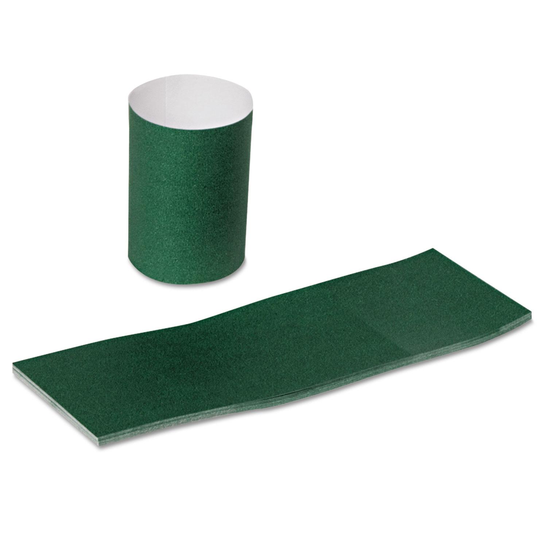 Paper Napkin Bands, Hunter Green, 2000 Bands