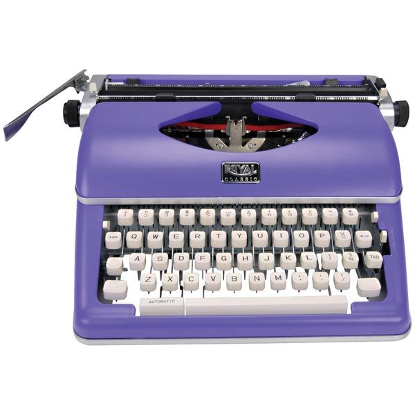 Royal 79119Q Classic Manual Typewriter (Purple)