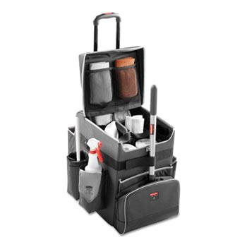 Executive Quick Cart, Medium, 14 1/4 x 16 1/2 x 21, Dark Gray