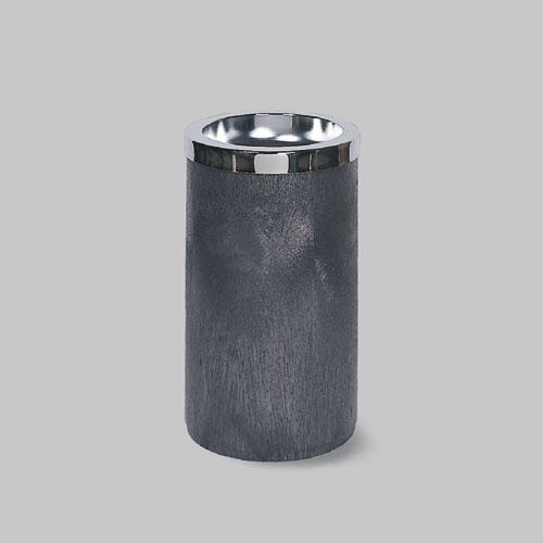 Smoking Urn w/Metal Ashtray Top, 19 1/2H x 11 1/2 dia, Black