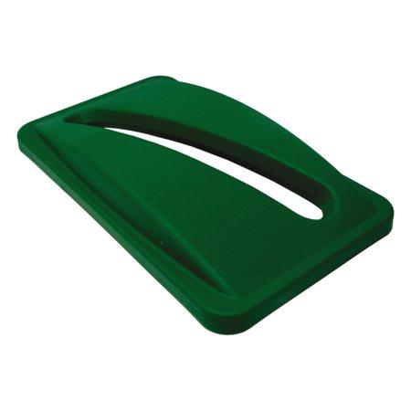 Slim Jim Paper Recycling Top, 20 3/8 x 11 3/8 x 2 3/4