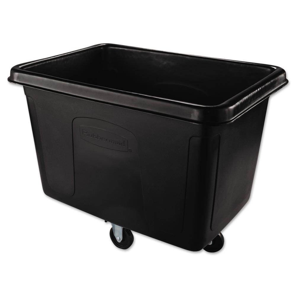 Cube Truck, Rectangular, 500-lb. Cap., Black