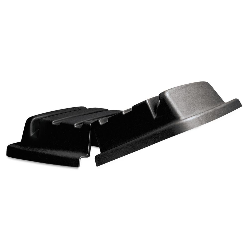 Lid for 16 Cubic Feet Truck, Rectangular, 31 x 44 1/8 x 8 1/2, Black