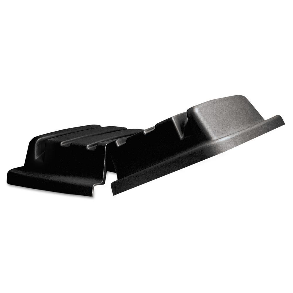 Lid for 20 Cubic Feet Truck, Rectangular, 34 x 48 1/2 x 8 1/2, Black