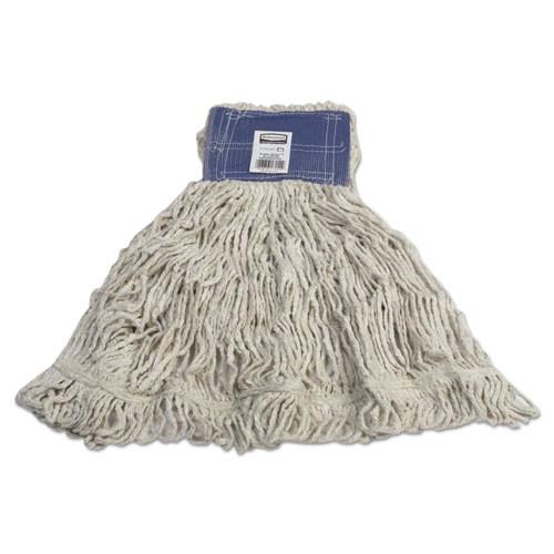 Super Stitch Blend Mop, Cotton/Synthetic, X-Large, White, 6/Carton