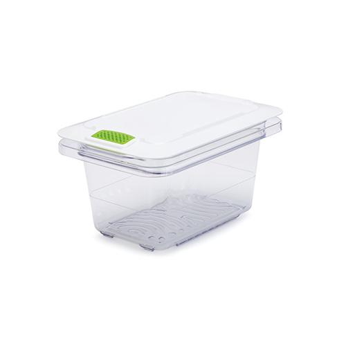 FreshWorks Produce Saver, 5 gal, 12 x 9.3 x 9.8, Clear/Green