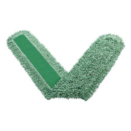 "Microfiber Dust Pads, 72"" Long, Green"
