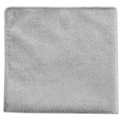 Executive Multi-Purpose Microfiber Cloths, Gray, 12 x 12, 24/Pack