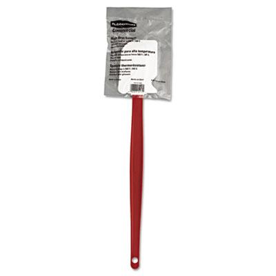 """High-Heat Cook's Scraper, 16 1/2"""", Red/White"""