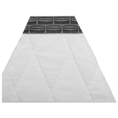 Spill Mop Pads, White, 10/Carton