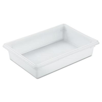 Food/Tote Boxes, 8.5gal, 26w x 18d x 6h, White
