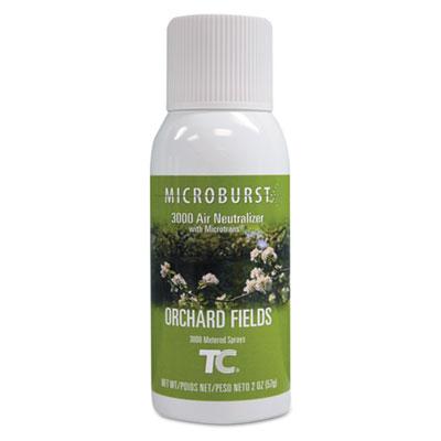 Microburst 3000 Refill, Orchard Fields, 2 oz Aerosol, 12/Carton