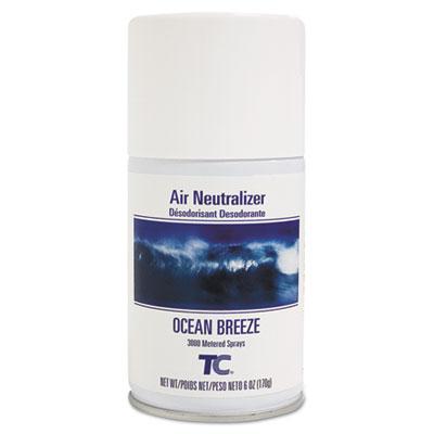 Standard Aerosol Refill, Ocean Breeze, 6oz, 12/Carton