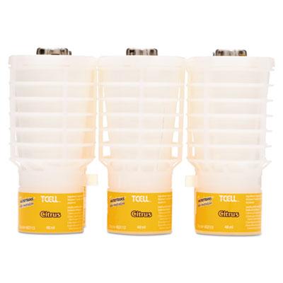 TCell Microtrans Odor Neutralizer Refill, Citrus, 1.62 oz, 6/Carton