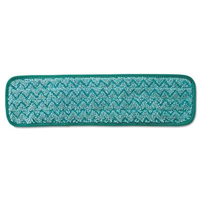 Microfiber Dust Pad, 18 1/2 x 5 1/2, Green, 12/Carton