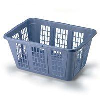 Rubbermaid FG296585ROYBL Laundry Basket, 1.6 bushel, 15-1/2 in H x 23.36 in W x 16.99 in D