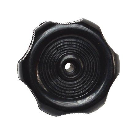 WINDOW KNOB - BLACK - 1IN SHAFT