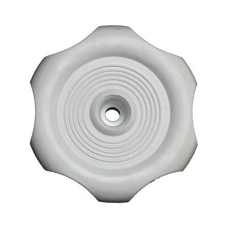 WINDOW KNOB - WHITE - 1/2IN SHAFT