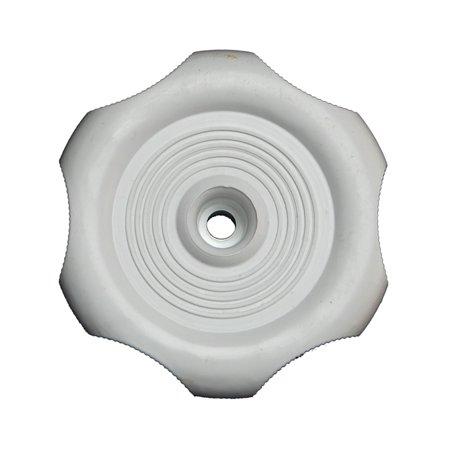 WINDOW KNOB - WHITE - 1IN SHAFT
