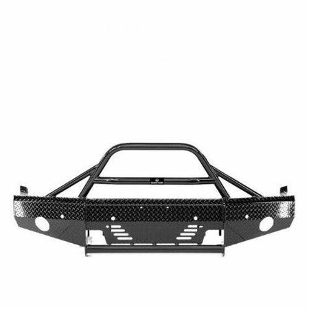 15-C SILVERADO 2500/3500 SUMMIT BULLNOSE FRONT BUMPER BLACK