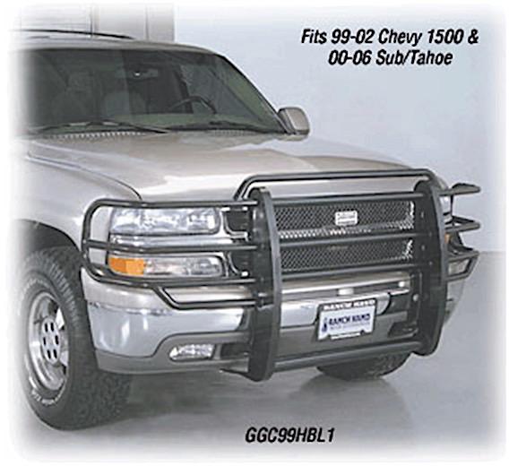 99-02 CHEVY SILVERADO 1500, 00-06 SUBURBAN/TAHOE 1500 LEGEND GRILLE GUARD