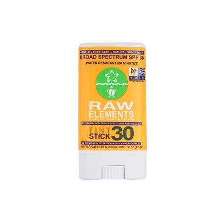 Raw Elements Sunscreen Eco Tint Stick 30 Plus  (1x60 Oz)
