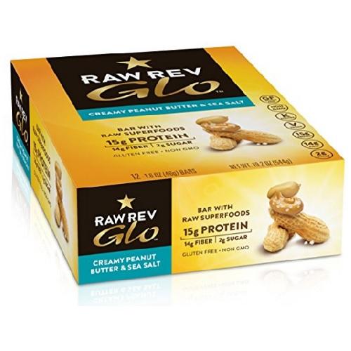Raw Revolution Creamy Peanut Butter And Sea Salt (12X1.6 OZ)