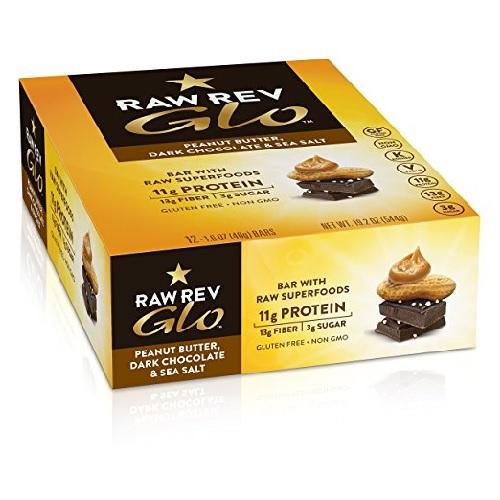 Raw Revolution Peanut Butter, Dark Chocolate And Sea Salt (12X1.6 OZ)