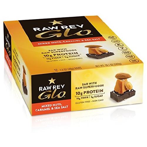 Raw Revolution Mixed Nuts - Caramel And Sea Salt (12X1.6 OZ)