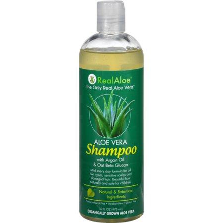 Real Aloe Inc Shampoo Aloe Vera Mild (16 fl Oz)
