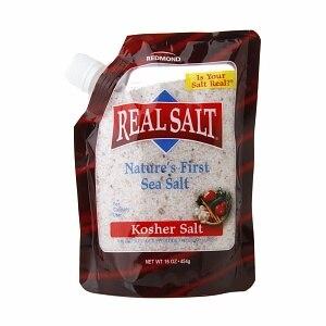 Real Salt Kosher Sea Salt (1x16 Oz)