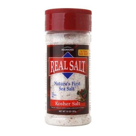 Real Salt Sea Salt Kosher Shaker (1x8 Oz)