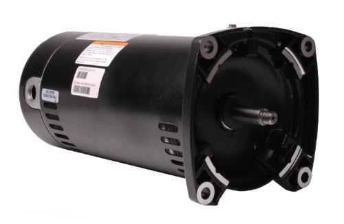 Motor, Square Flange, 48Y, AOS, 1.5 HP, Up Rate, 115/230V