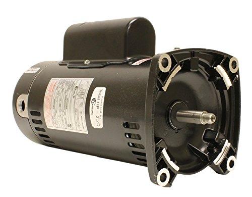 Motor, Square Flange, 48Y, AOS, 2.0 HP, Up Rate, EE, 230V
