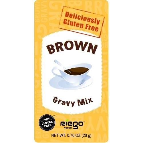 Riega Foods Gluten Free Brown Gravy Mix (8X07 OZ)