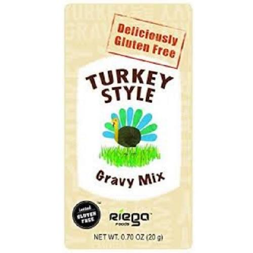 Riega Foods Gluten Free Turkey Gravy Mix (8X07 OZ)
