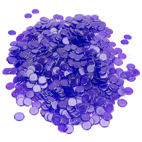 1000 Pack Purple Bingo Chips