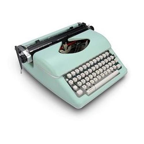 Royal Typewriter Mint Green