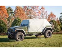 Weather Lite Cab Cover; 07-16 Jeep Wrangler JKU