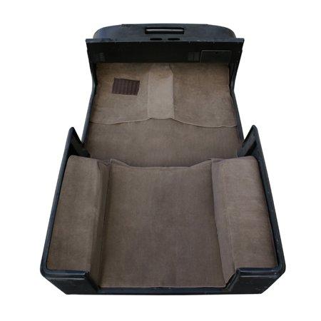 Deluxe Carpet Kit with Adhesive, Honey; 76-95 Jeep CJ/Wrangler YJ