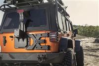 HD Tire Carrier Kit; 07-16 Jeep Wrangler JK