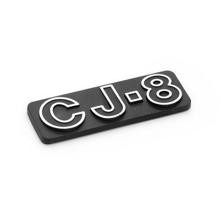 CJ8 EMBLEM, 81-86 JEEP CJ8