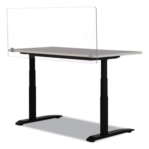 7517 Series Wellness Panel, 59.5 x 2.5 x 23.5, Acrylic, Clear