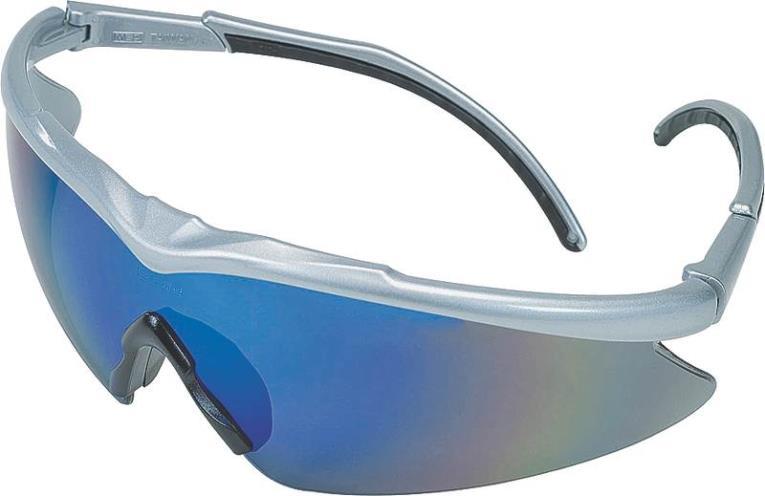 MSA Safety 10083094 Essential Euro Adjust 1150 Safety Glasses, Silver Frame