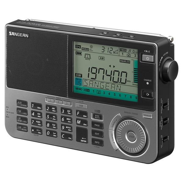 Sangean ATS-909X2 The Ultimate FM/SW/MW/LW/Air Multi-Band Radio