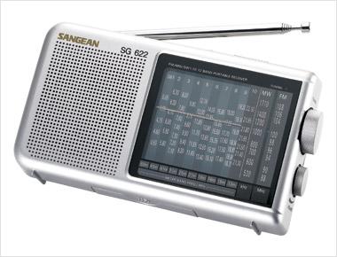 SANGEAN SG-100 BLUE WATERPROOF SHOWER RADIO